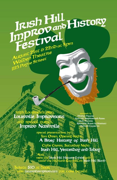2nd Annual Irish Hill Improv and History Festival
